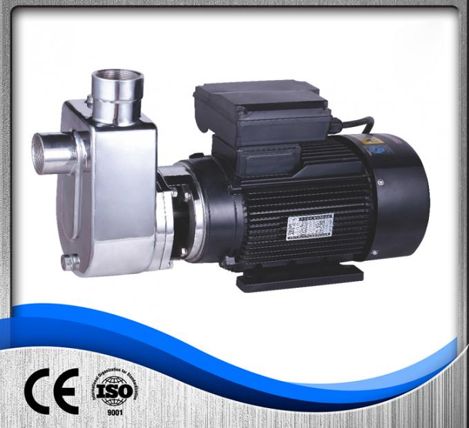 Chemical Stainless Steel Self Priming Pump Food Beverage 220V/380V High Efficiency