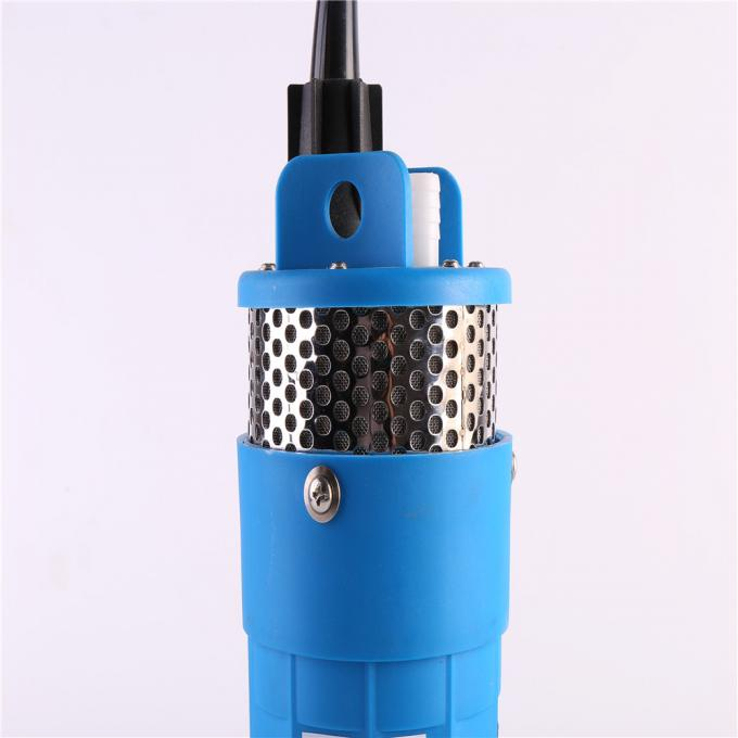 Single Stage DC Submersible Water Pump Capacity 60-200L/Min Plastic Outlet
