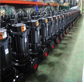 HT200 Grey Cast Iron Sewage Pump High Pressure Copper Wire Motor Custom Color