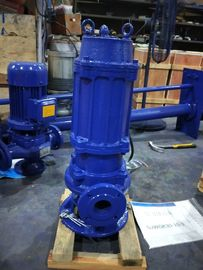 Durable Cast Iron Sewage Pump Drainage Schools Auto Coupling Installation