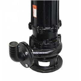 OEM Cast Iron Submersible Pump , Home Submersible Water Pump Black Durable
