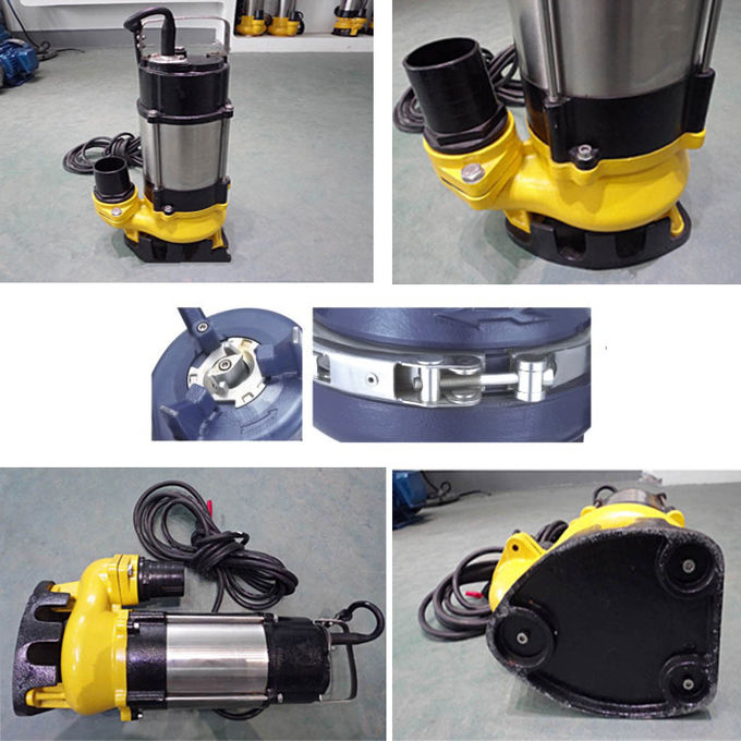 0.5hp Electric Submersible Water Pump 220V Single Phase V Serial Durable